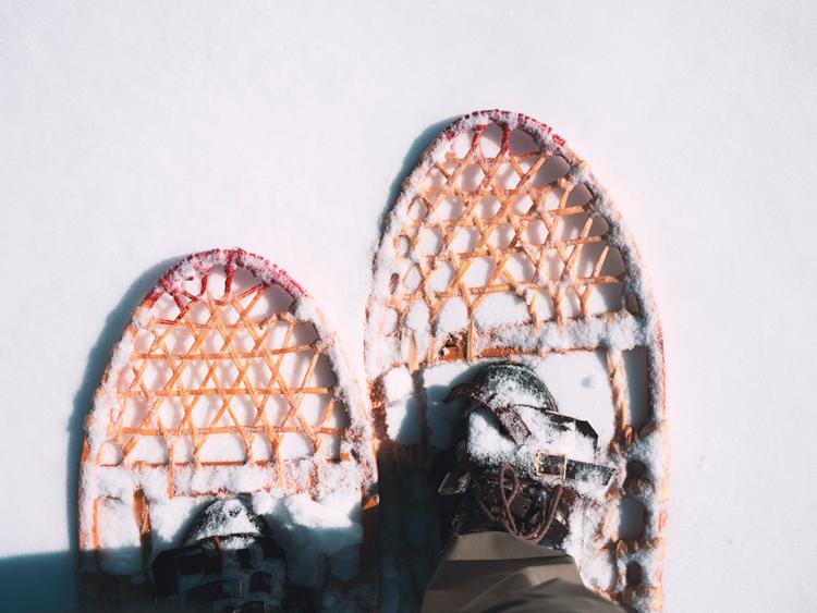 Snowshoeing in Southwest Washington