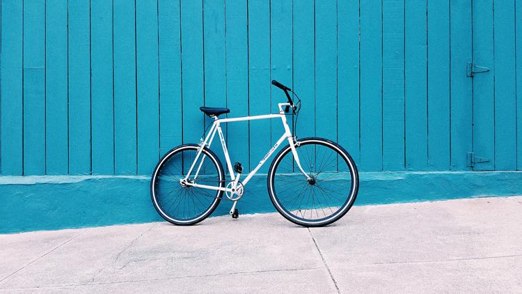 Biking in Portland, Oregon