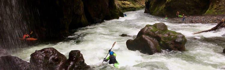 Sandy River Kayaking