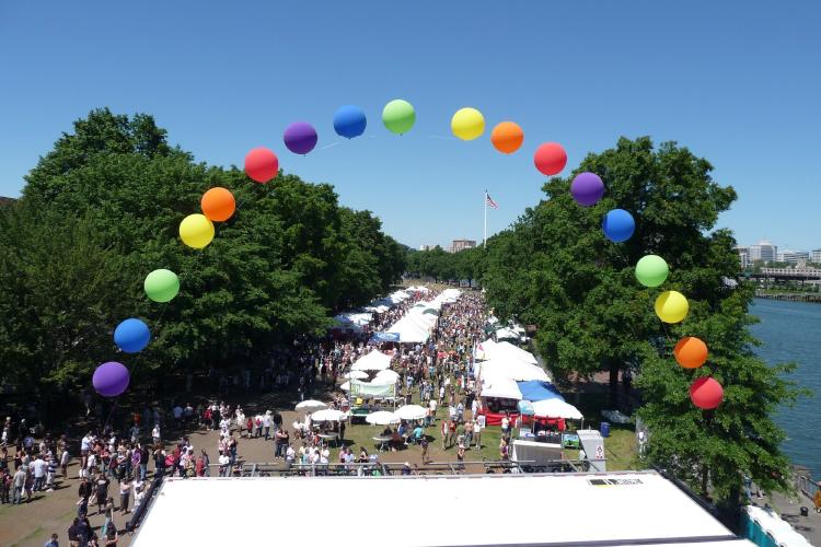 2021 Virtual Pride Parade Portland, OR