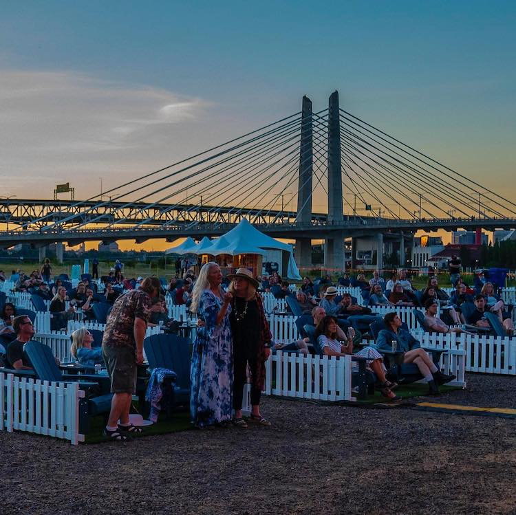 The Lot at Zidell Yards Portland, OR