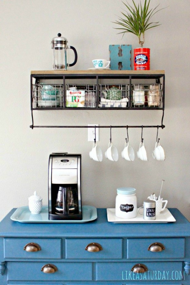 DIY Dcor Creating Your Own Coffee Station