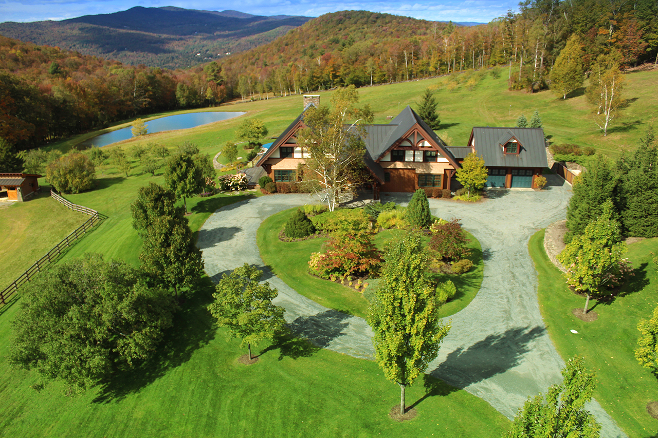 Enjoying summer in south woodstock vermont part 1 for Home builders in vermont