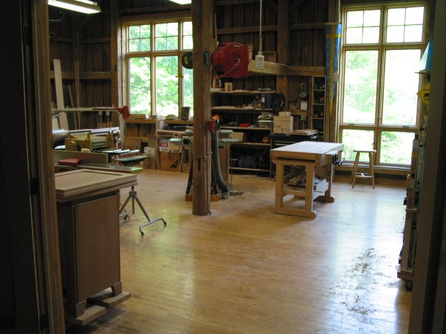Workshop at Beaver Brook Farm, VT