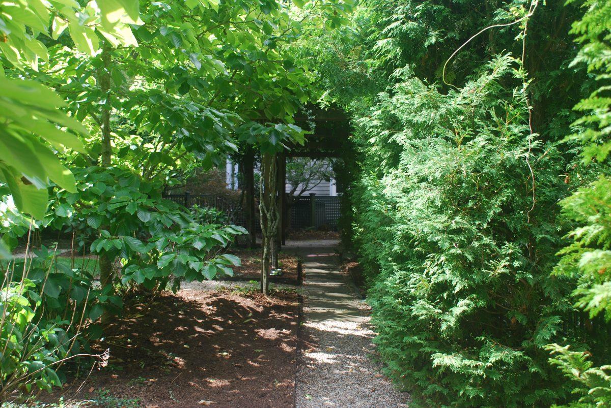 Japanese-inspired garden, 136 Weston Rd, Lincoln, MA