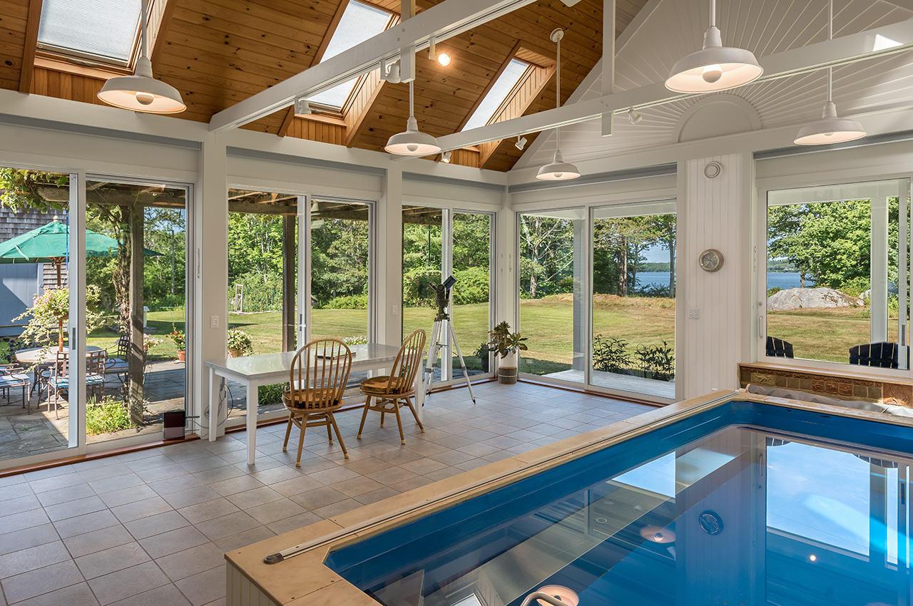 solarium, 942 Mere Point Road, Brunswick, Maine