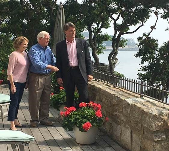 LandVest Broker Lanse Robb and owners of Coolidge Point