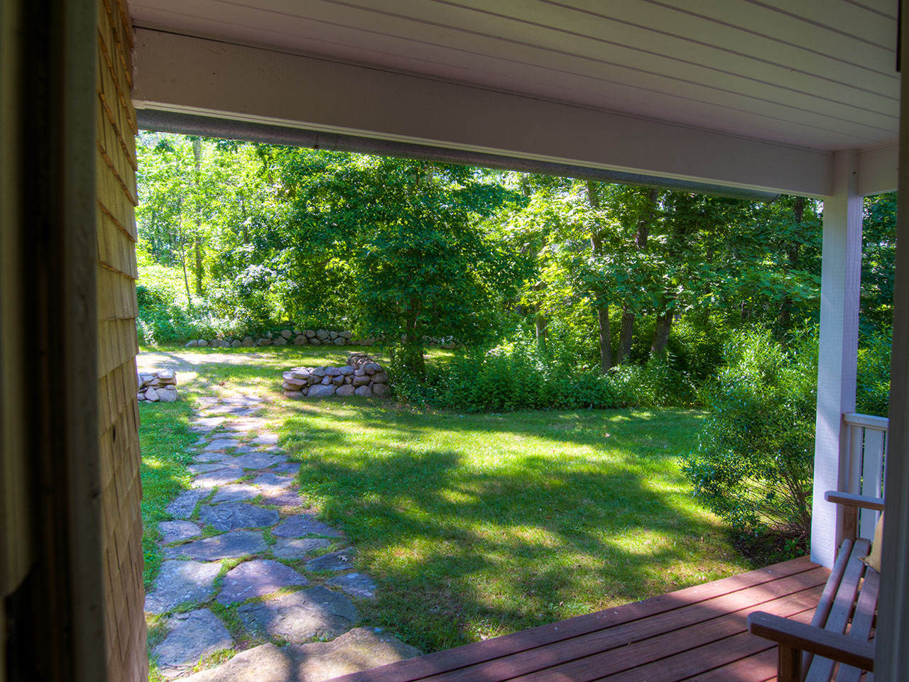 View from front porch, 3 Old Jetty Road, Dartmouth , MA 02748