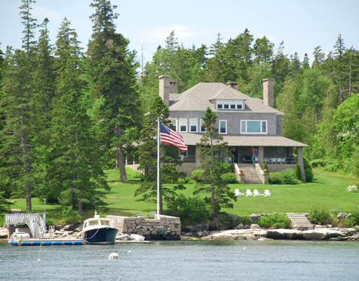 Midcoast Maine _Dirigo, Southwest Harbor, 3.15 acres with 236 feet of shorefront. Listed and sold by LandVest. Story Litchfield and Joseph Sortwell. Listed for $4,300,000.