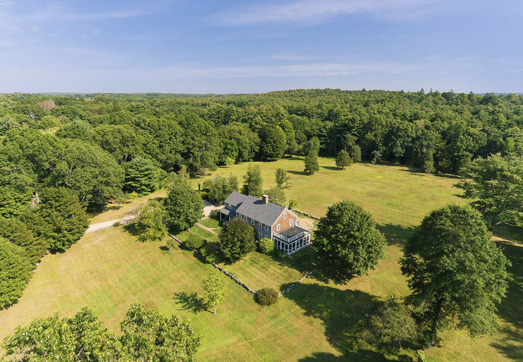 180 Larch Row in Wenham sold for $1,700,000 in 2018. The buyer is from London.