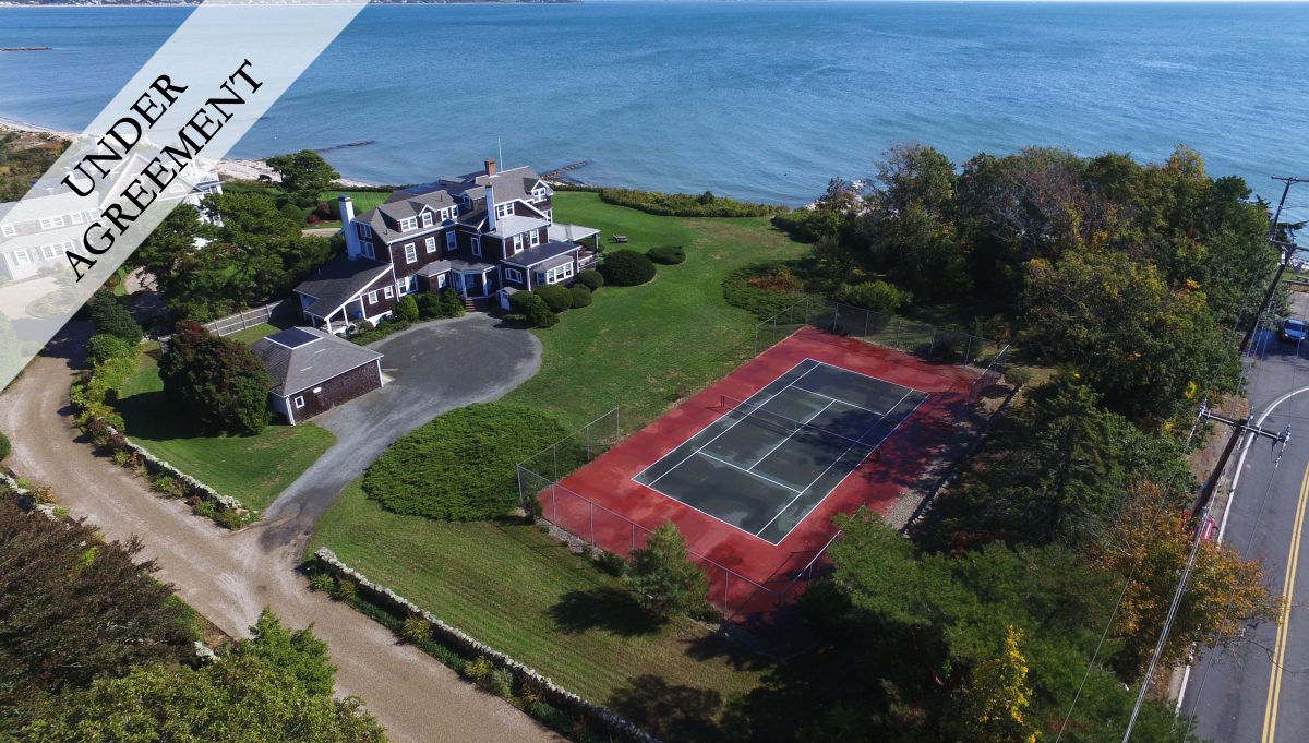 WIANNO WATERFRONT ESTATEOsterville, MA | $5,200,000