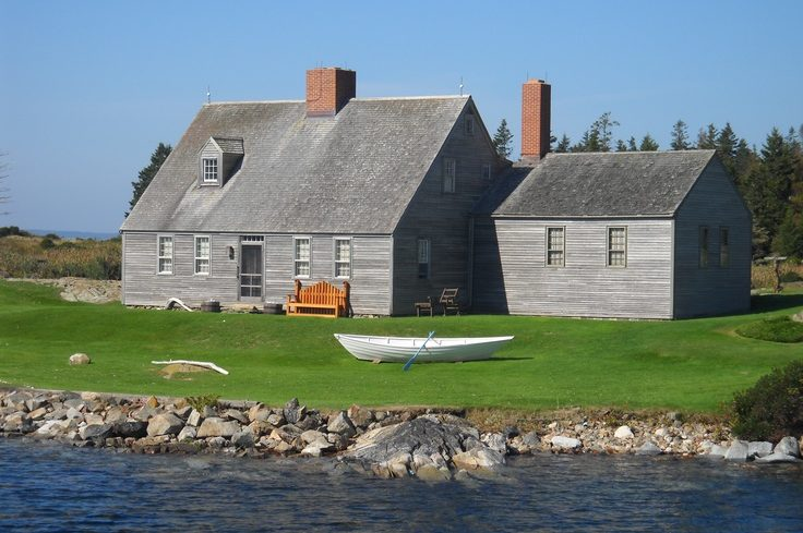 Muscongus Bay, Betsy Wyeth's Home