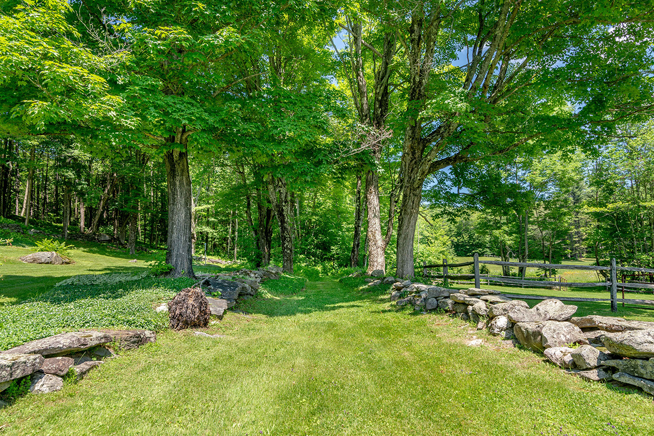 vermont farmhouse for sale, grassy lane