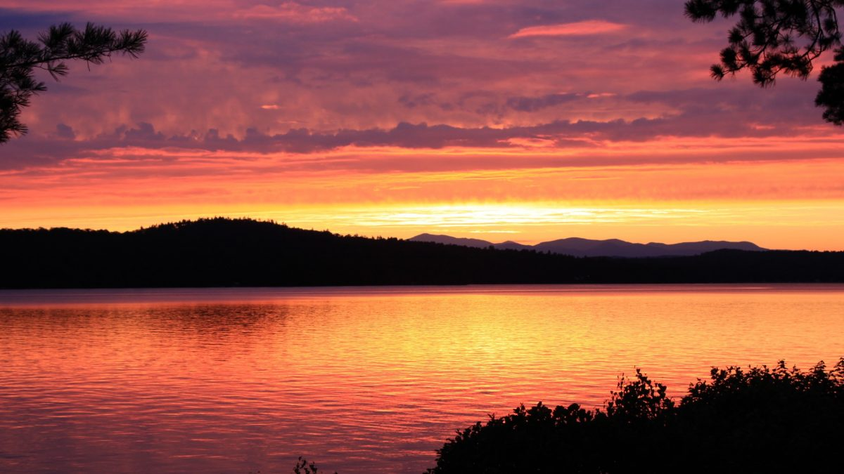 New England sunrises sunsets ME1433_Sunset