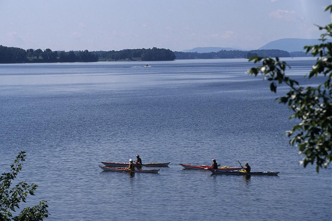 Lake Champlain in Ferrisburg, Vermont.