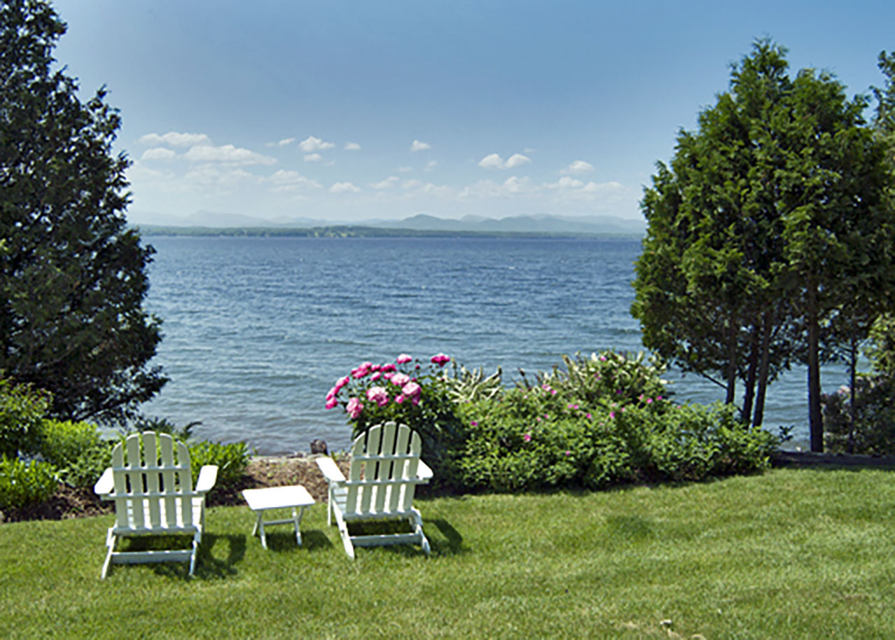 Wing's Bay on Lake Champlain