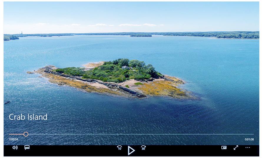 Maine island Video