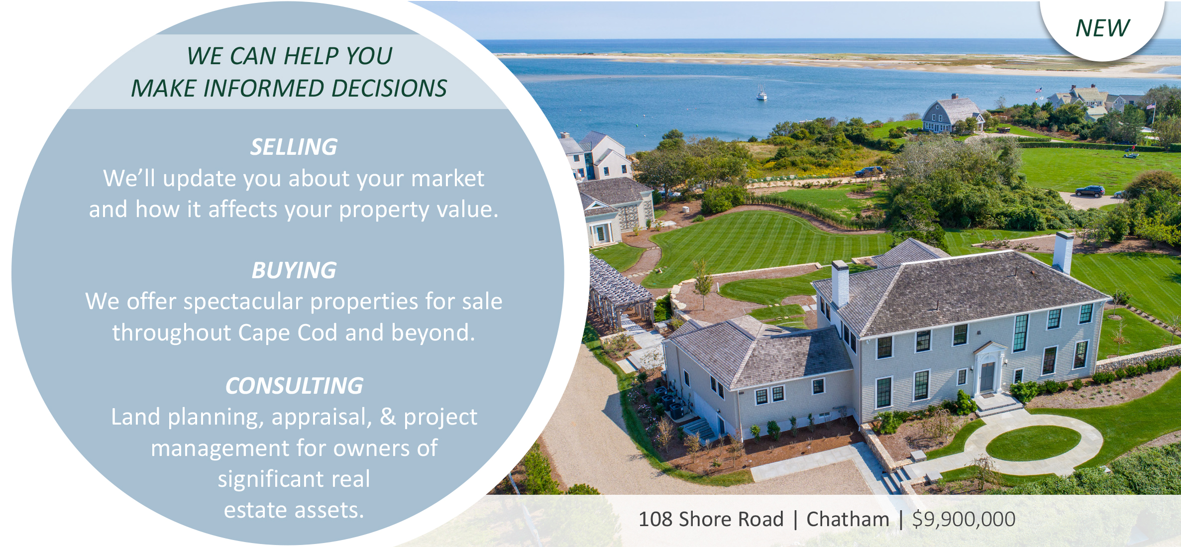New Listing in Chatham, MA