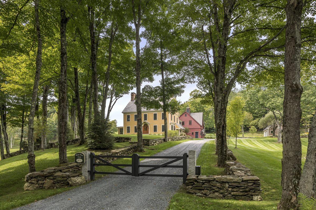 The Vermont vernacular farmhouse at Sheep Run Farm