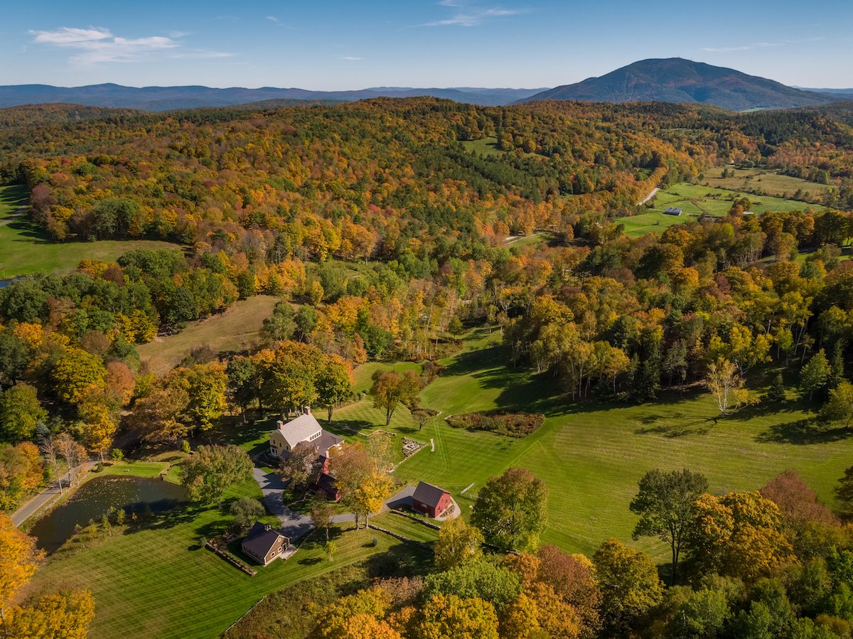 Sheep Run Farm near Woodstock Vermont for sale by LandVest.com