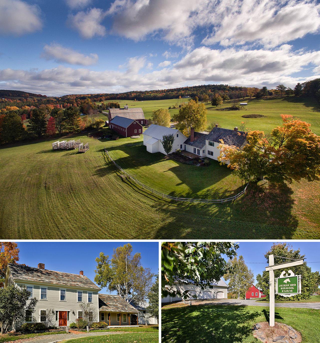 Jericho Brook Farm, Vermont. VT0753-26_CCc