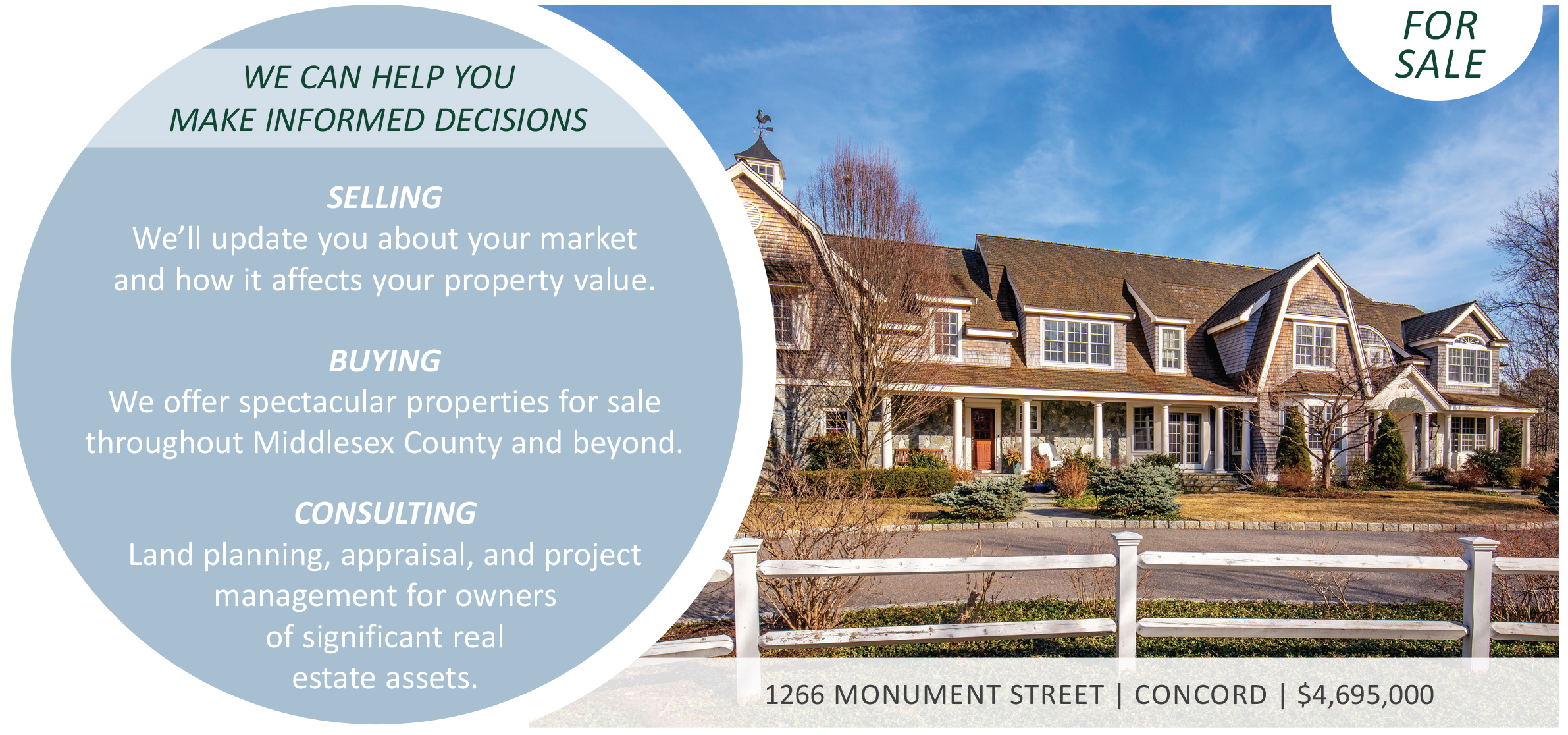 Middlesex County Market Watch