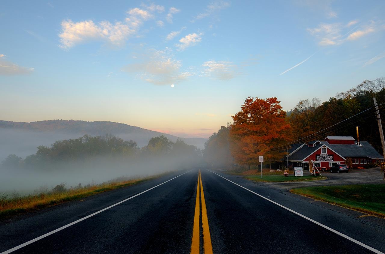 pioneer valley. South Deerfield Road by Todd Diemer