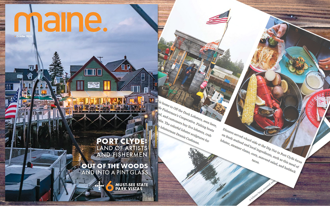 Port Clyde featured in Maine Magazine