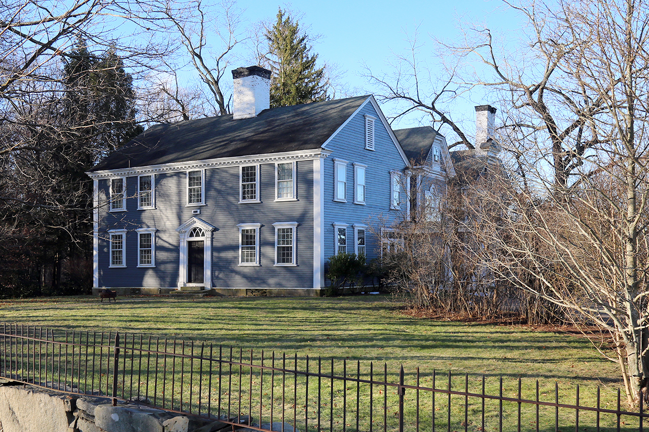 Lawrence homestead, exterior 2019