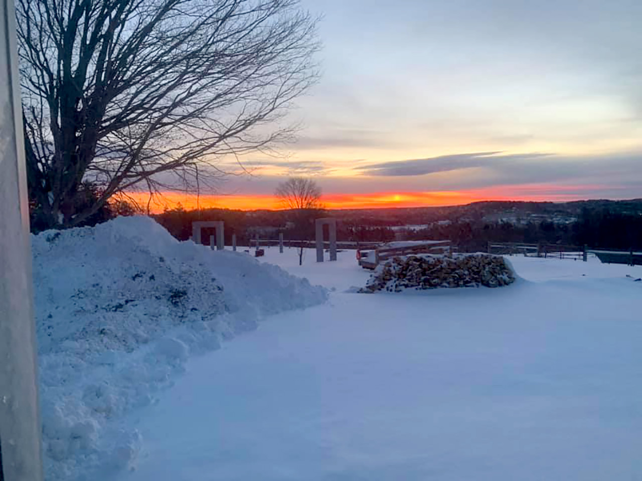 Conservation. Sunset at Kinney Hill, now conserved_CC