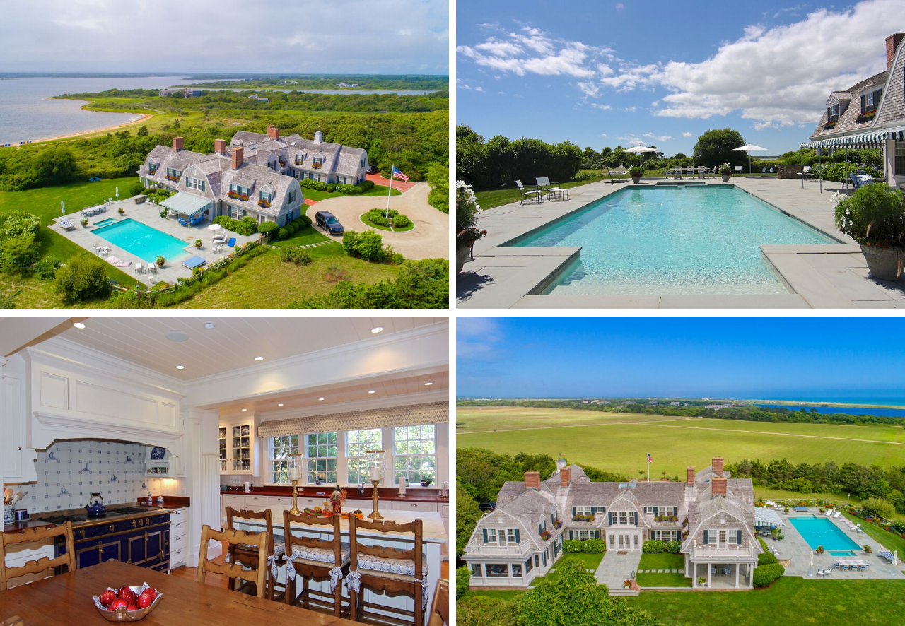 Located in the exclusive Herring Creek Farm Association and offering over 10,000 square feet of exquisitely appointed living area, lies this magnificent waterfront estate, presented by LandVest's Martha's Vineyard team.