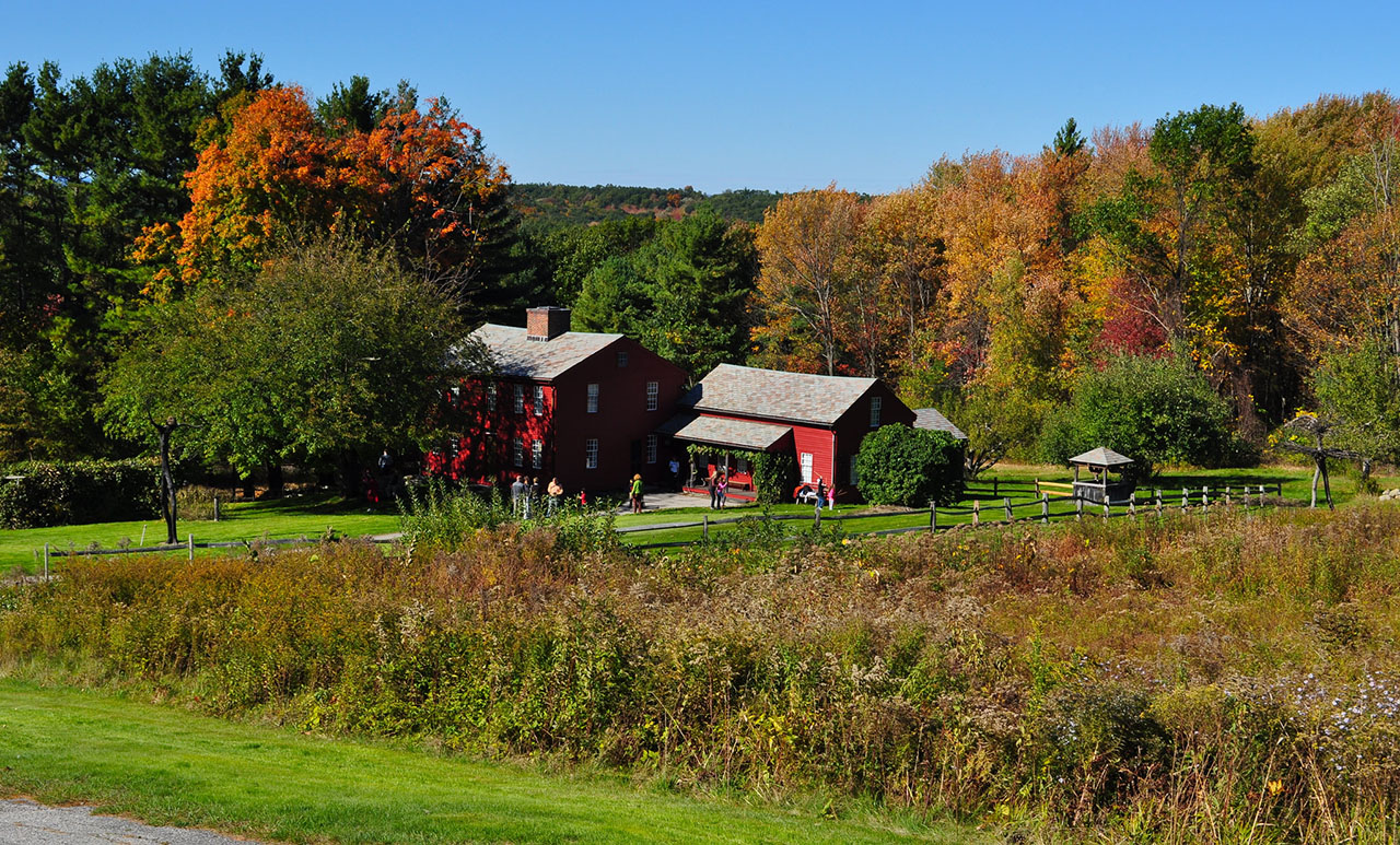 Almost 25,000 acres in Massachusetts are managed by the Trustees of Reservations. In recent days and weeks, a few of these Trustees properties have begun to reopen. LandVest presents some nearby properties where you can get out and explore these beautiful settings.<title>Fruitlands Museum - Harvard | Fruitlands Museum Credit: Tim … | Flickr</title>