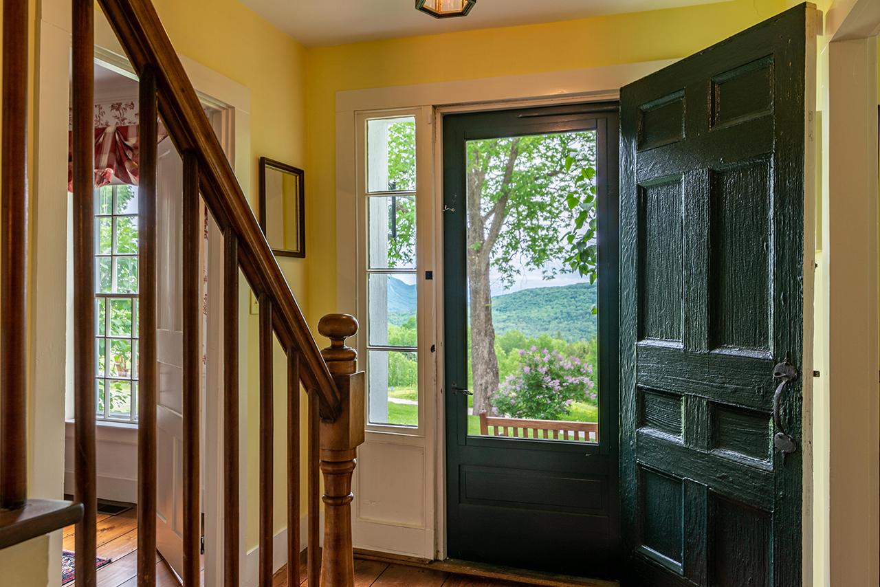 Quill Hill - Vermont Farmhouse, historic home, Noah's Ark style architecture, djenks@landvest.com