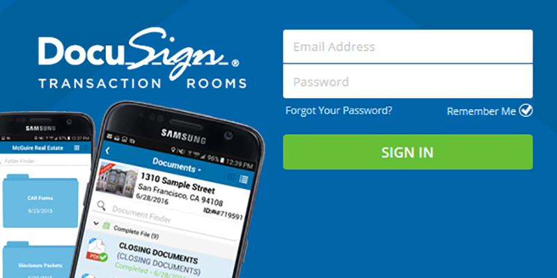 McGuire Launches DocuSign® Transaction Rooms