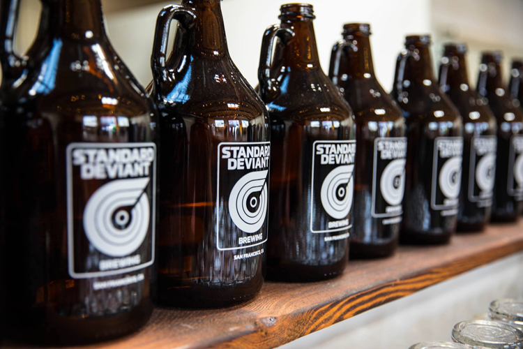 Breweries Walkable from the Bart Standard Deviant Brewing