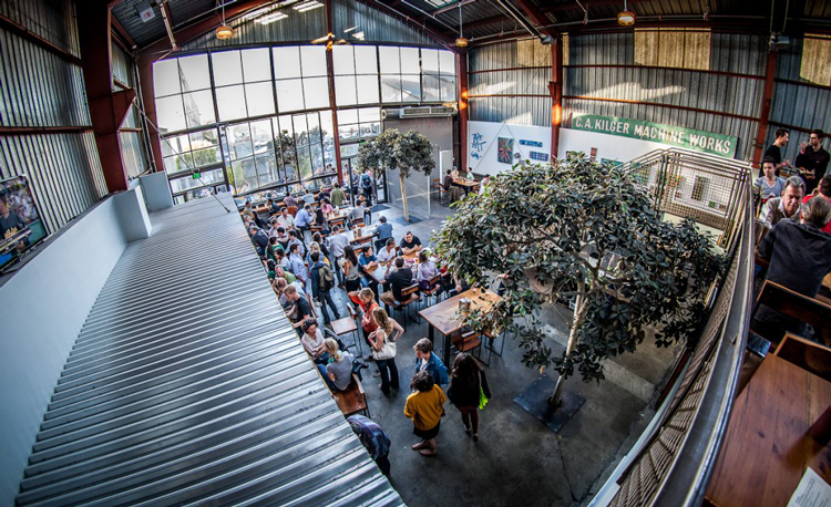 Breweries within walking distance of the Bart
