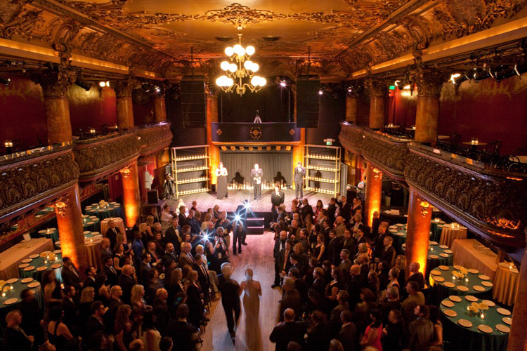 Great American Music Hall San Francisco Wedding