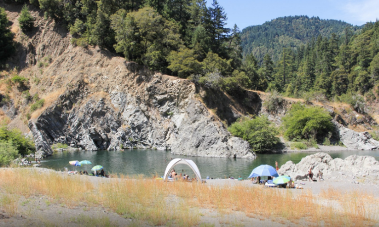 Standish-Hickey State Recreation Area Swimming Hole California