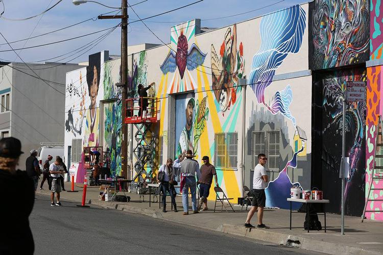 Sprayview Imprint.City in the Bayview San Francisco