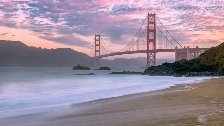Baker Beach San Francisco Bay Area Beaches