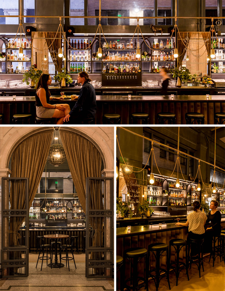 The Treasury San Francisco Bars and Restaurants Design