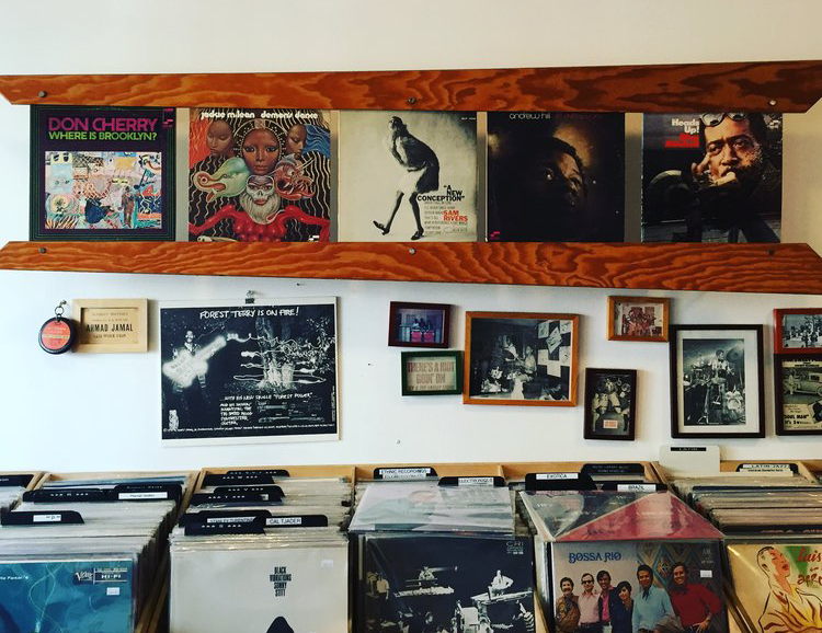 Groove Merchant Record Store San francisco