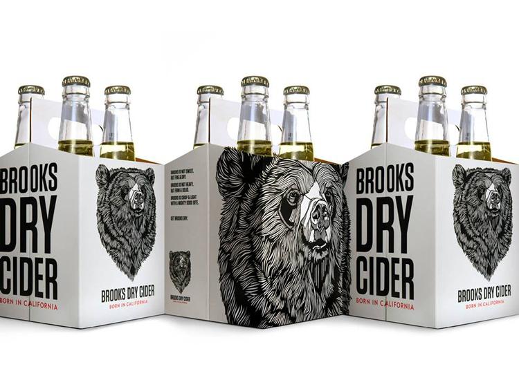 Brooks Dry Cider Sonoma County California Hard cider