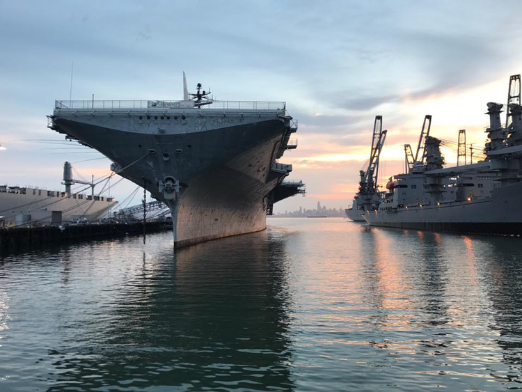 San Francisco USS Hornet haunted walking tours