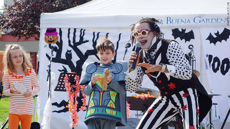 Yerba Buena Gardens Halloween Hoopla 2017 San Francisco Events