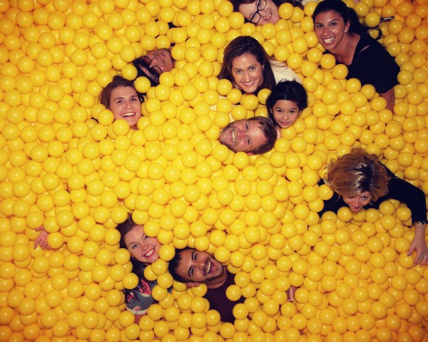 Team Picture - Ball Pit