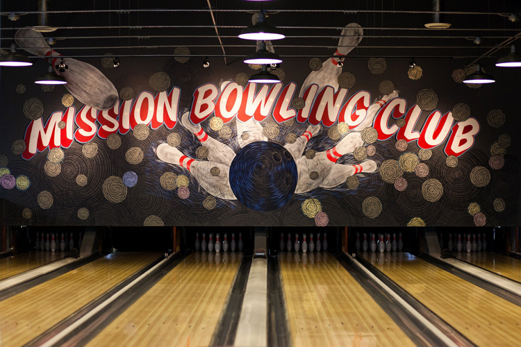 Mission Bowling Club Bay Area San Francisco Sports Bars