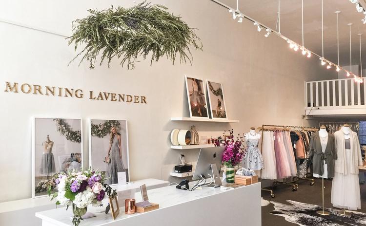 Morning Lavender San Francisco local boutique shops