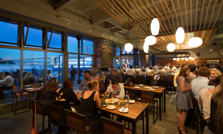 Hog Island Oyster Co San Francisco Embarcadero date night restaurants