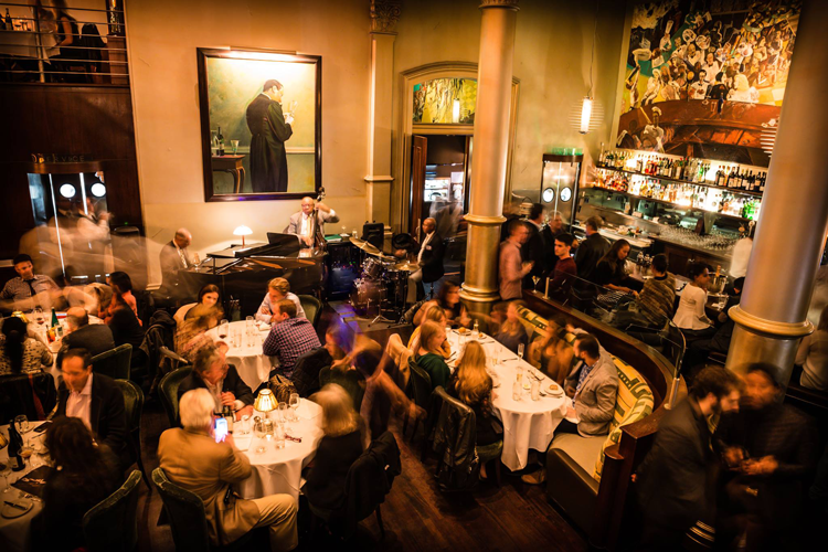 Bix Jazz clubs bars restaurants in San Francisco live music